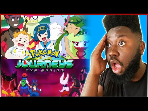 ASH'S LUCARIO, ALOLA GANG, GOH'S NEW POKEMON & MUCH MORE!! | Pokemon Journeys Opening 2 REACTION