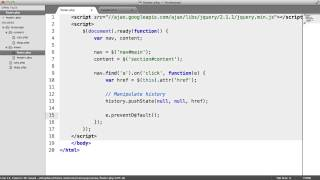JavaScript History API Basics