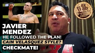 Khabib's game plan vs Gaethje explained by his coach, Javier Mendez | Mike Swick Podcast