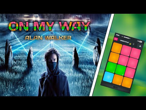 alan-walker,-sabrina-carpenter-&-farruko---on-my-way-l-easy-drum-pads-l-super-pads