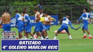 BATIZADO DO 4° GOLEIRO MARLON REIS, SASSÁ QUASE MANDOU O GAROTO PRO DM! 🤣🤣🤣 thumbnail
