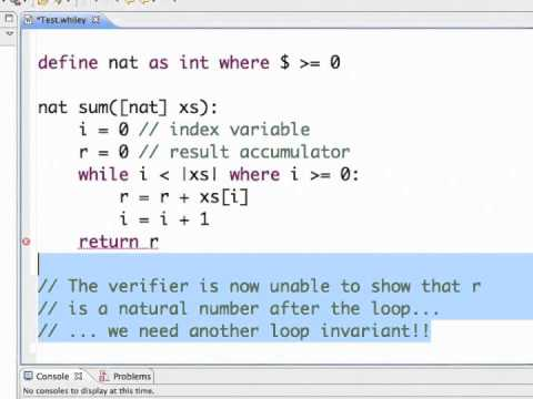 write a loop invariant definition