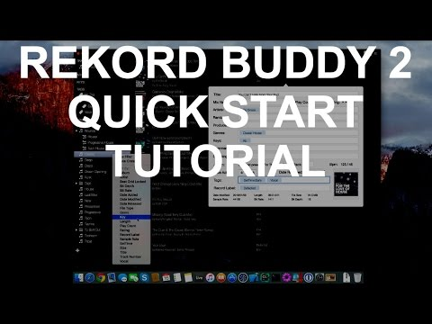 Rekord Buddy 2 - Part 1: Getting Started