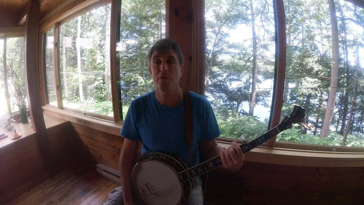How To Play The Melody on the Banjo / Sample Video / Ross ...