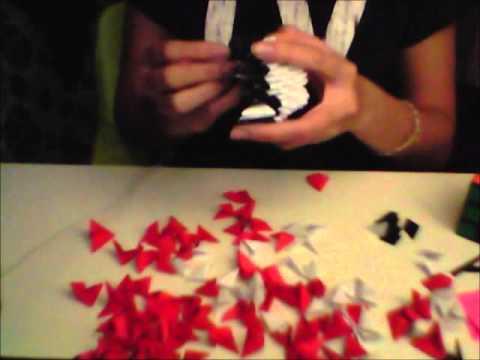 Making A 3d Origami Pokeball Timelapse Youtube
