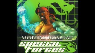 Mortal Kombat Special Forces PS1 Gameplay