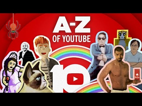 The AZ of YouTube: Celebrating 10 Years