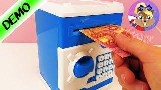 Trezor pre deti | Pokladnička bankomat | Pokladnička s heslom | Elektronická pokladnička | Sejf
