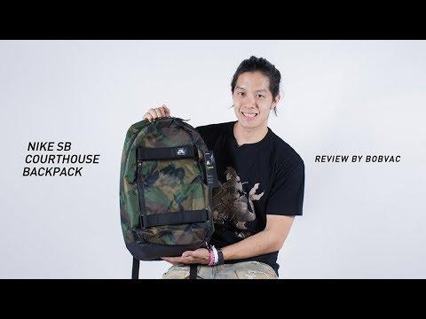 llave inglesa Aspirar horario  Nike Sb Courthouse Backpack [Review](Thai) - YouTube