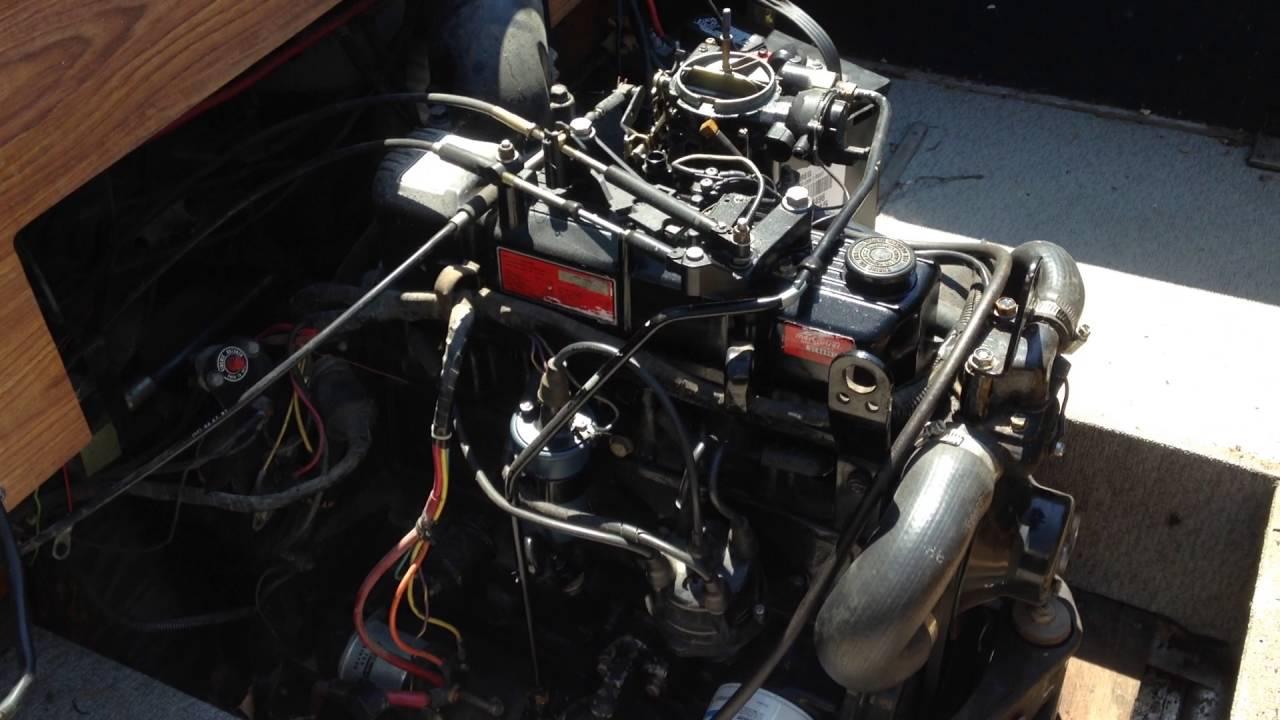 1988 Mercruiser 2 5 Liter 4 Cylinder Inboard Motor With