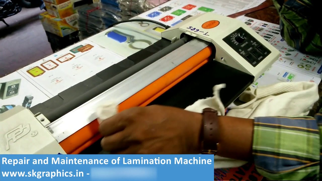 How Of - Youtube Clean To Lamination Maintenance And Repair Machine