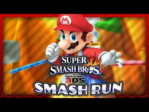 Super Smash Bros. for 3DS - Smash Run: Mario