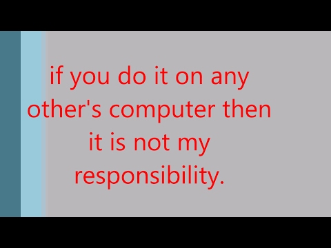 HOW TO BREAK /BYPASS/HACK/RECOVER ANY WINDOWS OPERATING SYSTEM PASSWORD | WINDOWS 7/8/8.1/10