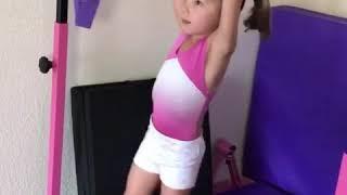 Emma rester gymnastics evolution (age 2-6)