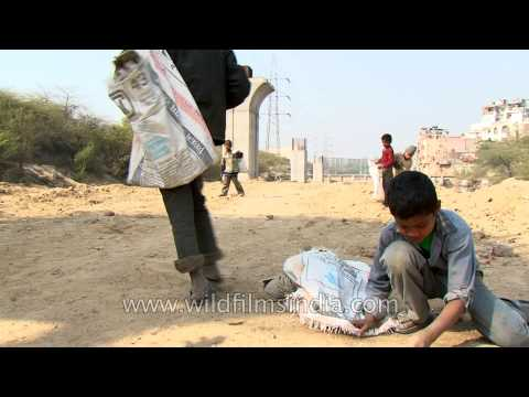 Life filled with thorns: Delhi rag pickers