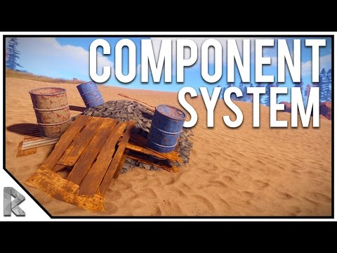 NEW Component System UPDATE! Recycler, Components, Radiation - Rust Survival with Friends #48