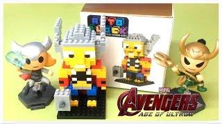 NANO ATTO BLOCK THOR LOKI Avengers 2 Marvel 어벤져스2 토르 로키 아토블럭 loz나노블럭 마블