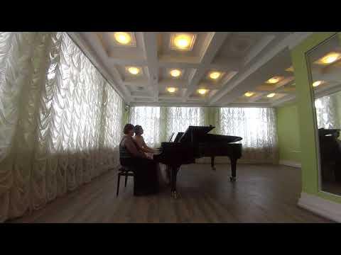 Ф. Мендельсон Allegro Brilliante, С. Рахманинов Романс из Сюиты №2 для двух фортепиано