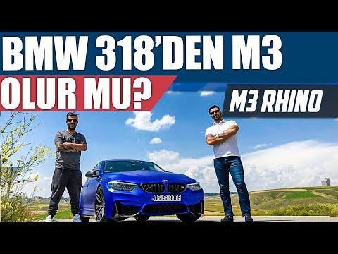 BMW 318'den M3 Olur Mu? | M3 Rhino