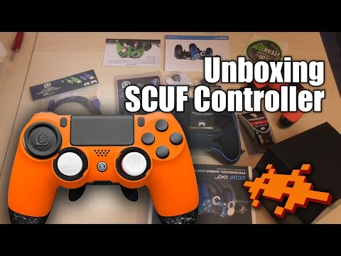 Unboxing Scuf Infinity 4PS Pro Controller PS4 [PlayStation 4]