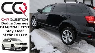 Diagonal TEST: Dodge Journey AWD | You might want to stay ON the ROAD!