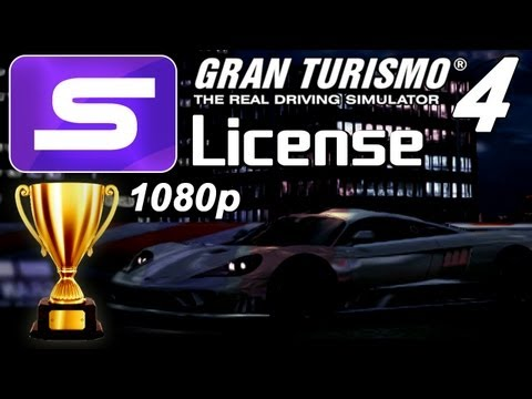 Gran Turismo 4 [1080p] - S-License - Gold & Prize Cars!!!!!
