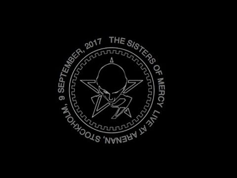 The Sisters of Mercy Live Stockholm, Arenan, 9 September, 2017
