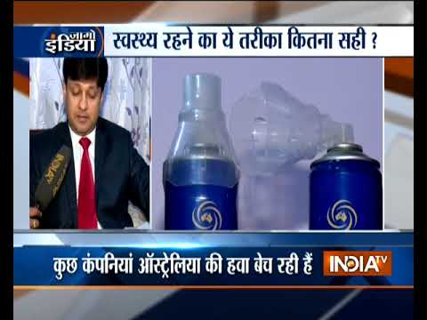 Delhi pollution triggers sale of canned 'pure and clean' air
