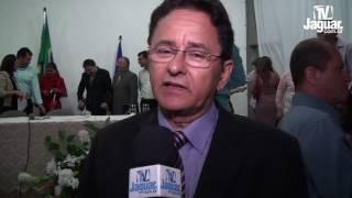Garcia Lima declarasua satisfação por receber a cidadania Limoeirense