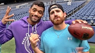 Seattle Seahawks Edition ft. Russell Wilson | Dude Perfect thumbnail
