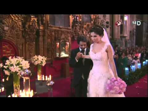 Boda de Eugenio Derbez y Alessandra Rosaldo Ceremonia Completo HD Parte 1/2
