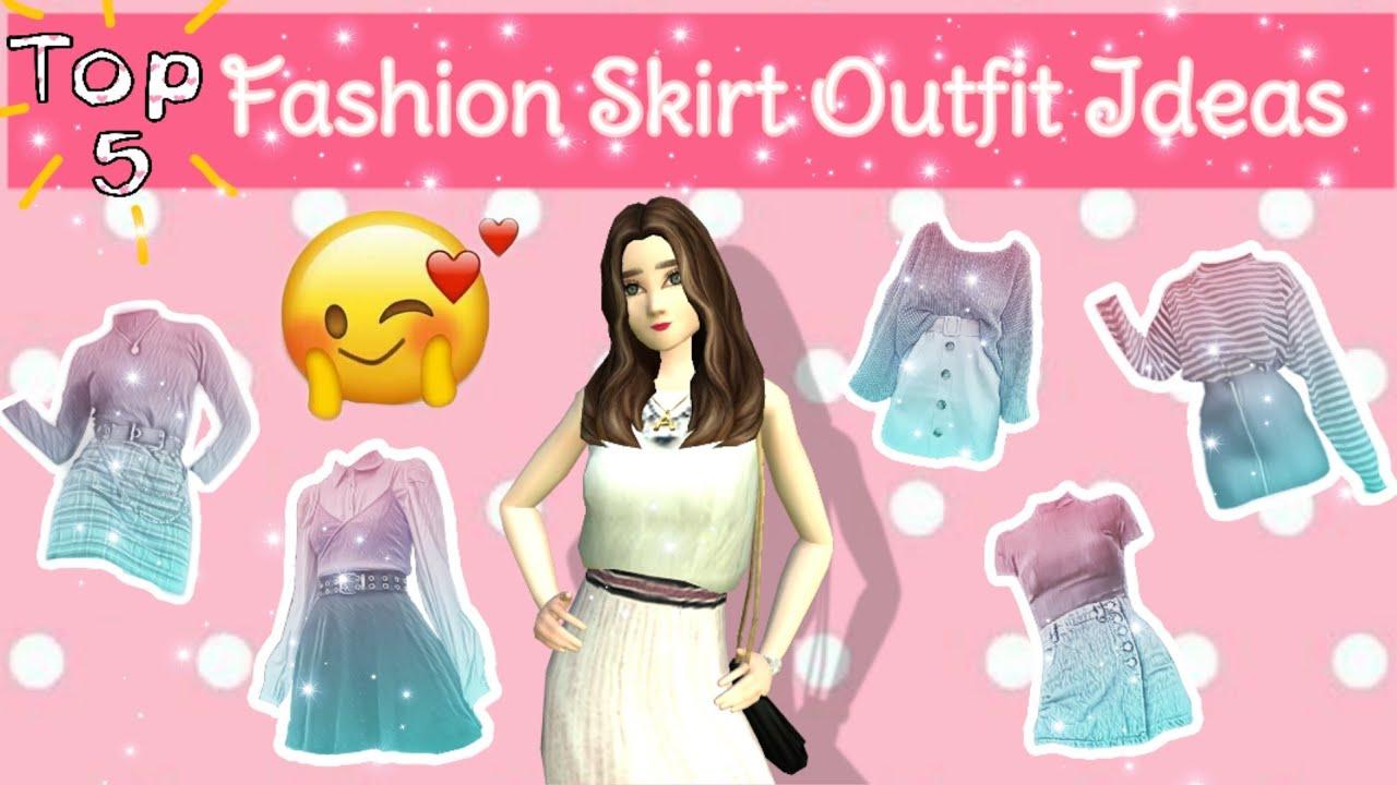 Top 5 Fashion #4 - Fashion Skirt Outfit Ideas | Avakin Life Indonesia | Inci Dramavakin