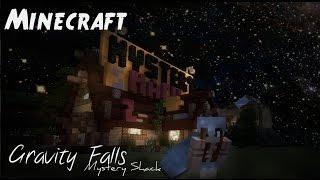 Minecraft Showcase - Mystery Shack (Gravity Falls)