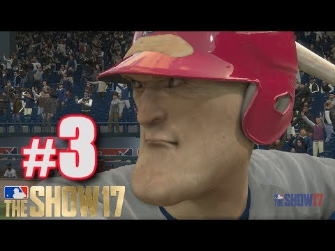 FIRST HOME RUN! | MLB The Show 17 | Road to the Show #3