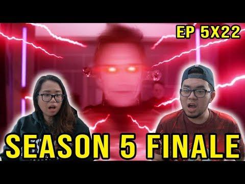 THE FLASH Season 5 Episode 22 REACTION 5x22 FINALE Legacy REVIEW