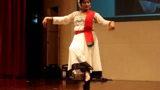 Tanaya Chaudhuri - Kathak Dance - Grad Fest 2015 - NTU Singapore