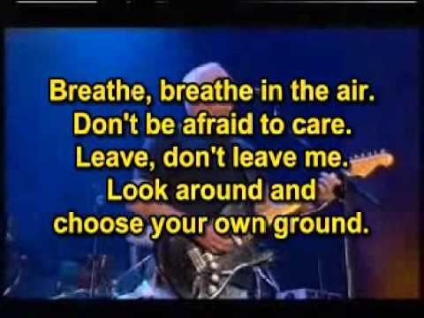 Pink Floyd   Breathe Karaoke