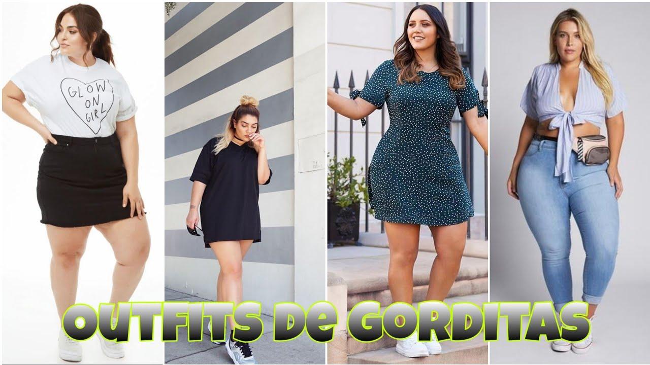 Diferentes Outfits Para Mujer Gorditas Atuendos Tallas Grandes 2020 Vistete Y Se Feliz Moda Cool Youtube