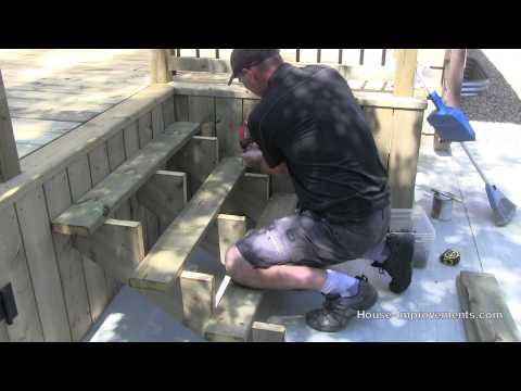 How To Build A Deck | #6 Stairs & Hand Rail