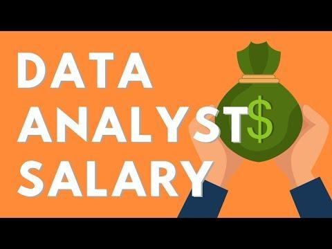 Data Analyst Salary 2019