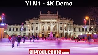 YI M1 mirrorless camera - 4K Demo Footage