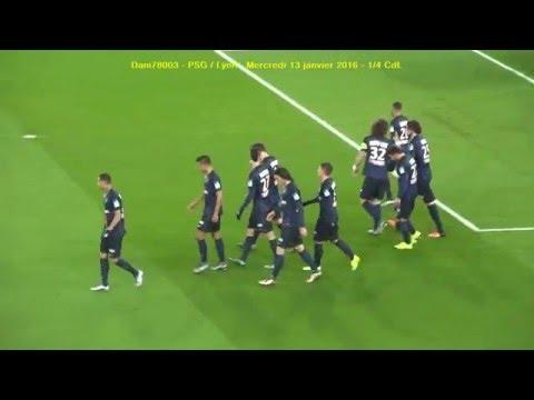 PSG / Lyon 13.01.2016 : 2-1 (1/4 CdL) 4/4 : Juste après les buts