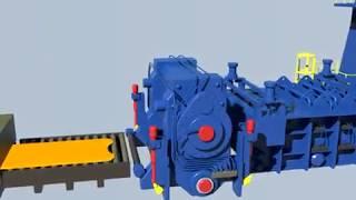 ОМК. Обзор процесса производства литейно-прокатного комплекса