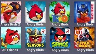 Angry Birds 2,Angry Birds,AB Rio,Angry Birds Transformers,AB Seasons,AB Star Wars 2,Bad Piggies
