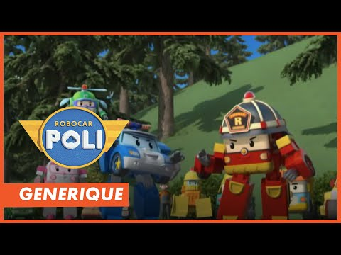 robocar poli la chanson du g n rique de ton dessin anim. Black Bedroom Furniture Sets. Home Design Ideas