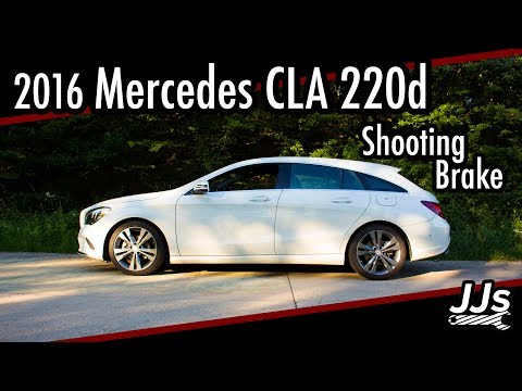 Test/Review 2016 Mercedes CLA 220d Shooting Brake X117 Deutsch //JJsGarage