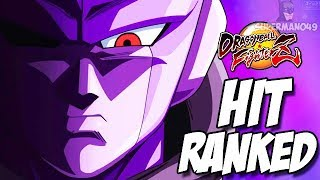 The Hardest Character To Use In Dragon Ball FighterZ - Dragon Ball FighterZ Hit Online Ranked