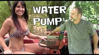 How To Replace Or Repair The Water Pump In The International 244 Tractor