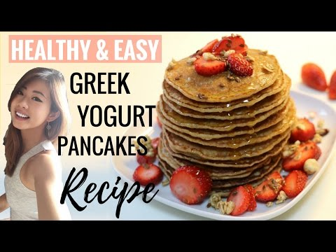 Healthy Greek Yogurt Pancakes Recipe for Breakfast | Easy Yummy Step by Step | stayfitandtravel