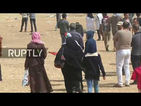 Live: Gaza protests continue in Khan Yunis for 'March of Return'